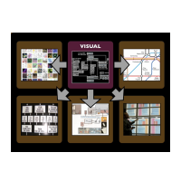 Comparing visual programming to examples in the visual arts