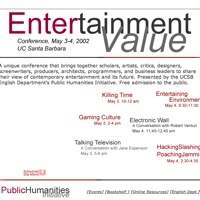 Homepage for 2002 Santa Barbara conference Entertainment Value