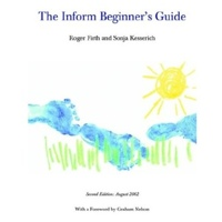 Book cover image from The Inform Beginner's Guide by Firth and Kesserich, one of the works excerpted in the IF reader packet.