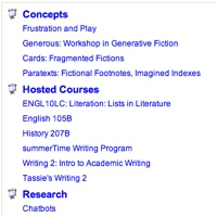 Screenshot of hosted courses list on WRT